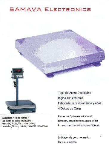 Básculas de Almacén o Plataformas - Básculas SAMAVA de León