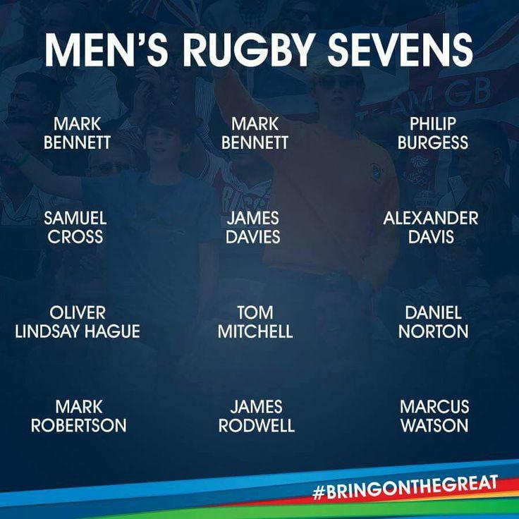 Men's Rugby 7s - Team GB Rio 2016