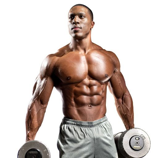 New Gym Muscle Bodybuilding Black Leather Fitness Lifting: Lawrence Ballenger