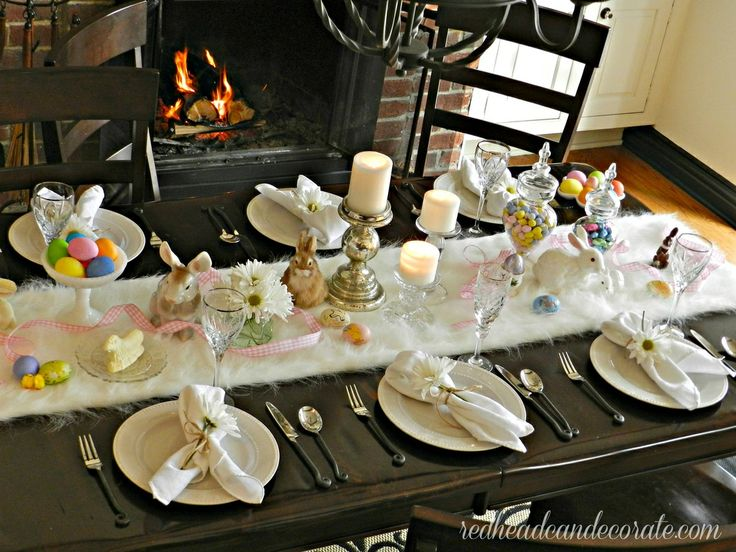Brunch Table Setting, Breakfast Table Setting And