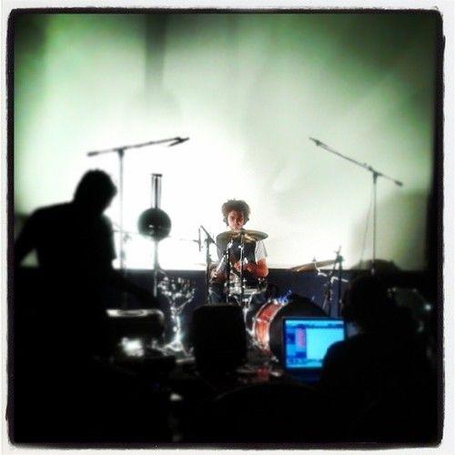 Burkus König dob stúdiófelvétel a Bem mozi vetítőtermében. --------------------------- Burkus König @ Bem mozi Budapest in recording session of drums.