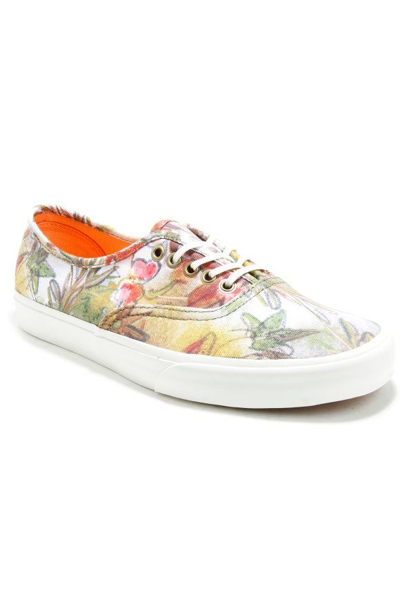 Vans - Authentic CA, sneakers, shoes, footwear, women, girl, trend, fashion, style, outfit, clothing, outwear, summer, spring, 2017, official, accessories,street, streetammo, streetswear, streetwear, flowers, california, vans,