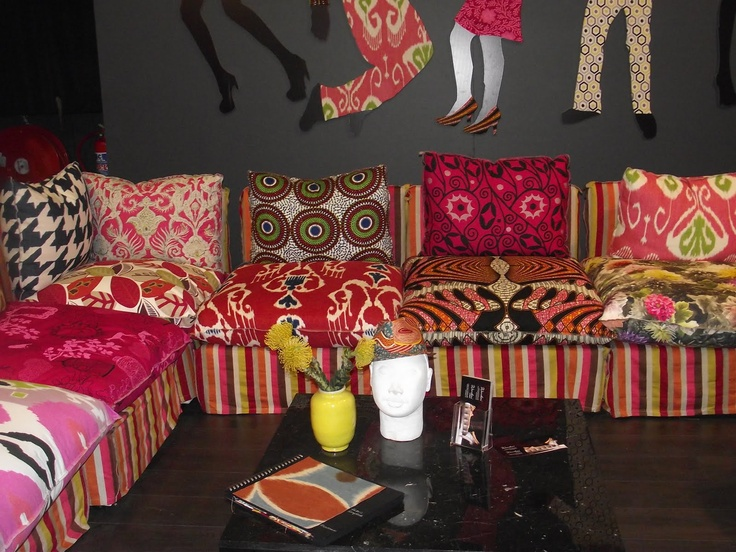 """Design Team"" fabrics and others at Decorex Joburg 2011"