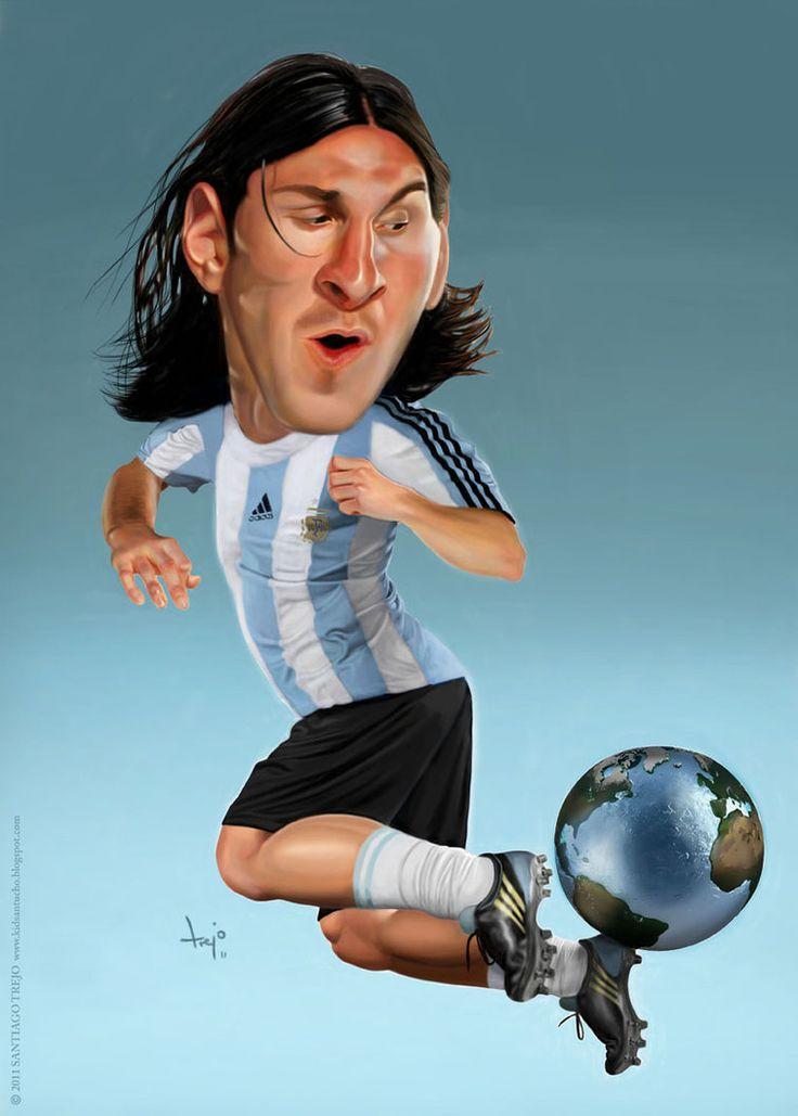 Lionel Messi by santiago-trejo