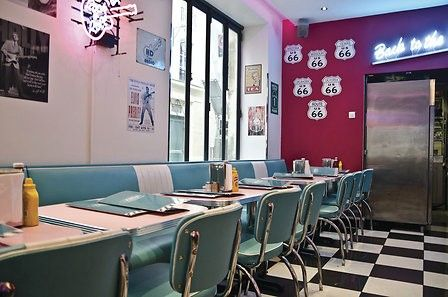 Repas américain pour 2 au HD Diner à Paris (75)