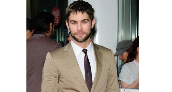 We've never seen Chace Crawford so rugged pictured at the premiere of What To Expect When You're Expecting.