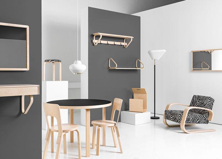 Artek revives Alvar Aalto products for latest furniture collection