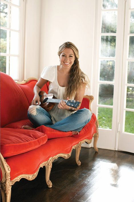 Colbie Caillat. She is amazing!! I love her so much. :)