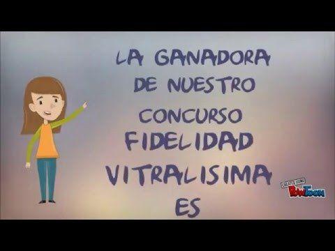 GANADORA concurso fidelidad VITRALISIMA