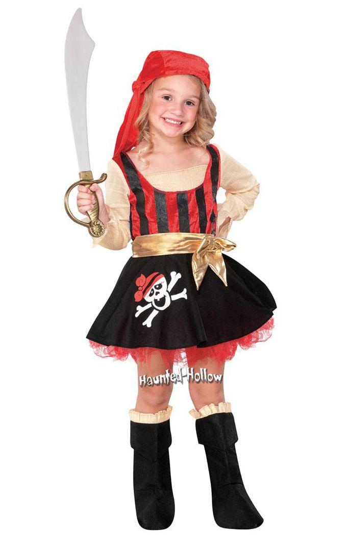 Las 25 mejores ideas sobre disfraces de pirata para ni os - Maquillaje pirata nina ...