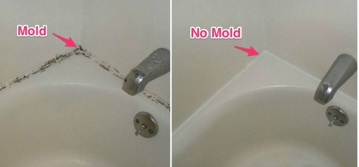 Best Way To Remove Mold & Stains From Shower & Bathtub Caulking