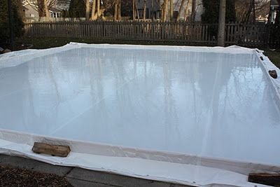 my best friend craig: DIY: BUILDING AN ICE SKATING RINK. My dad used to do this when I was little.... LOVED it!