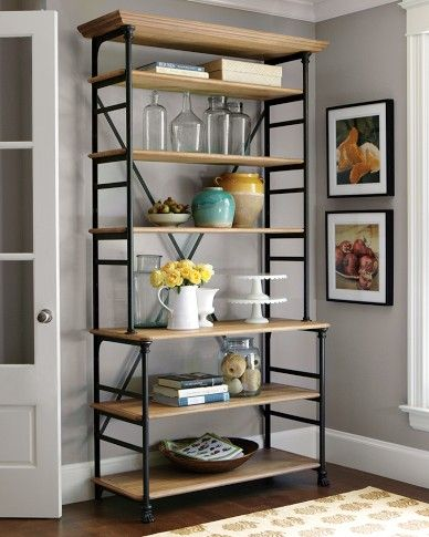 25 best ideas about bakers rack on pinterest pallet