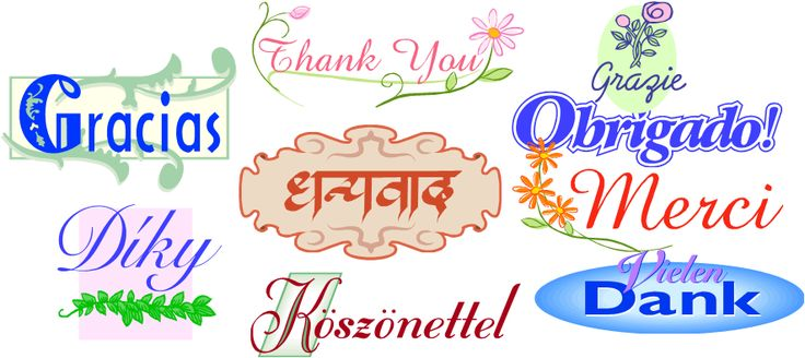 how to say thank you in 100 different languages