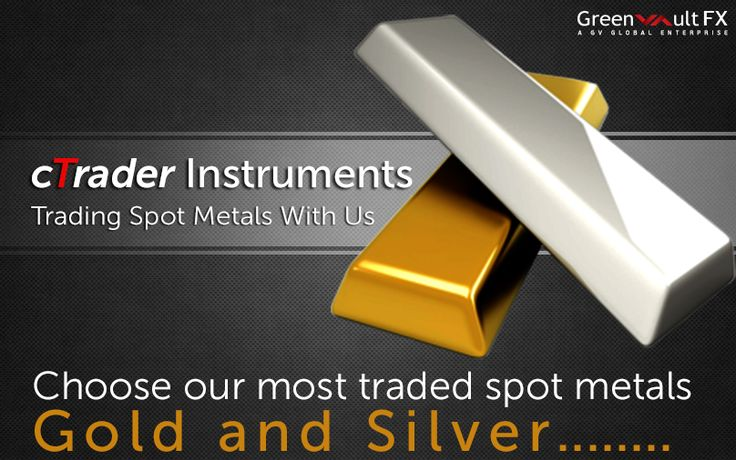 Greenvault #FX offers online #trading of gold and silver with fixed and variable spreads. #Trade your metals easily with the use of #cTrader Platform at lightning speed.  Know more information and start trading your precious metals.