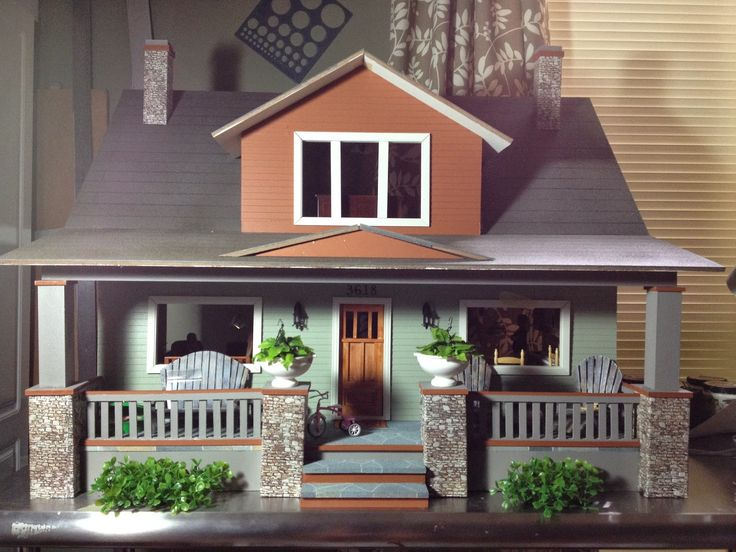 Jocelyn's Mountfield Dollhouse