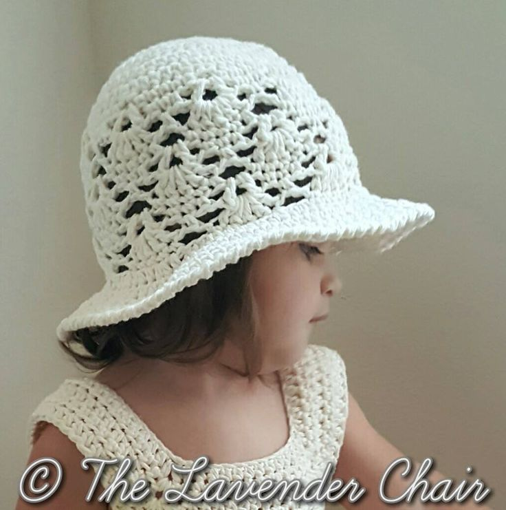 Knitting Pattern For Baby Sun Hat : 17 best ideas about Crochet Sun Hats on Pinterest Crochet baby hats, Croche...