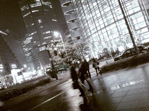 04/22/2011 Rainy day in Osaka.