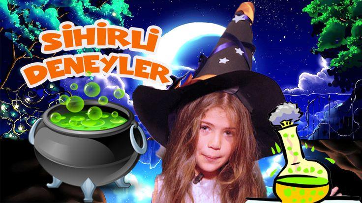 Isabella Damla Güvenilir'den sihirli deneyler: https://www.youtube.com/watch?v=iZ6JEFL3nK0