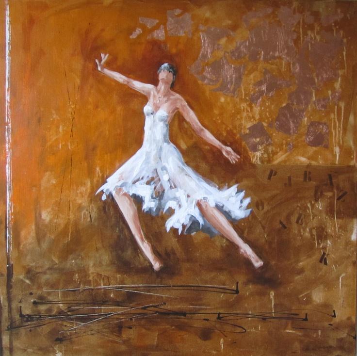Meer dan 1000 afbeeldingen over schilderijen kleurrijk op pinterest taupe met en tapijten - Bruin taupe schilderij ...