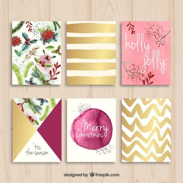 Collection de belles cartes de Noël