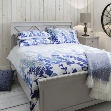 Waverley Blue Quilt Cover Set, Available in 4 Sizes - Starting from £55 | brandinteriors.co.uk