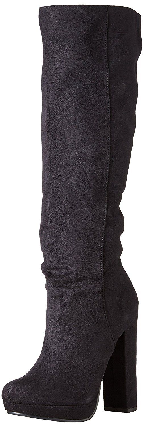Michael Antonio Women's Baldwin Knee-High Suede Boot -- Click on the image for additional details.