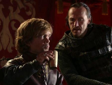 Citas de los libros: Conversaciones entre Tyrion y Bronn