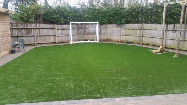 Namgrass Enigma supplied and fitted by Mango Paving & Landscaping Ltd. Perfect for Rocky the dog and all the kids.