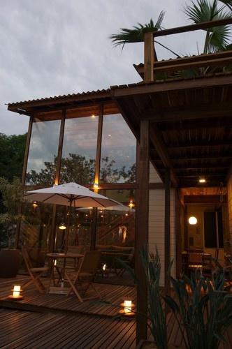 Beach Cottage tropical exterior