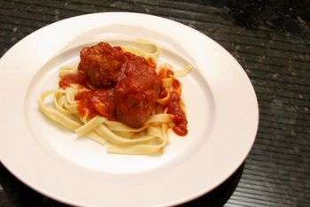 Oven baked beef and pork meatballs recipes