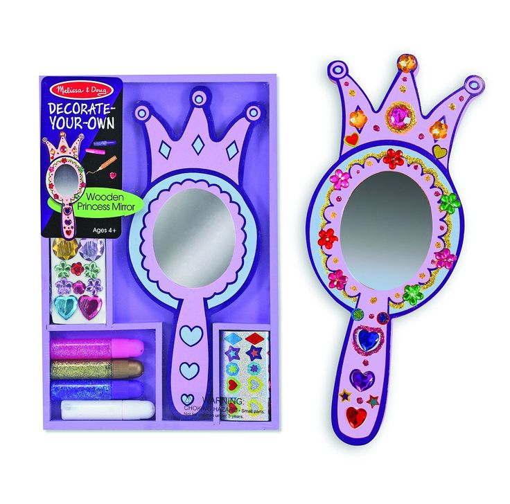 Kids Toys to You | Kids Toys to You Princess Mirror - Decorate your own - craft activity for kids Kids Toys to You - $19 at www.kidstoystoyou.com.au