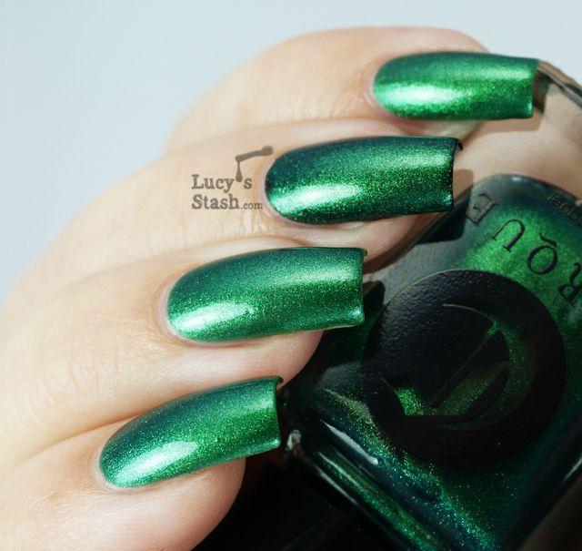 Mejores 84 imágenes de Green Nails en Pinterest | Ongles, Uñas de ...