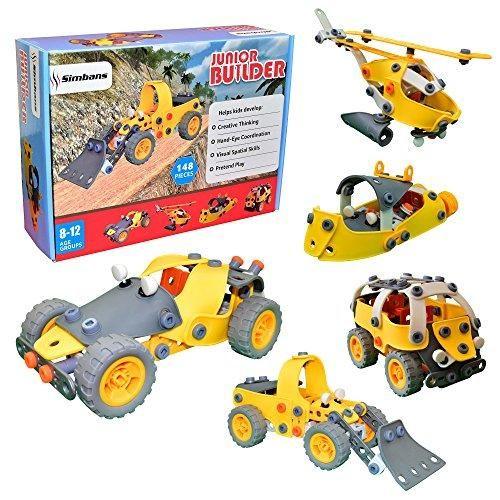 Oferta: 25.95€ Dto: -42%. Comprar Ofertas de [Bolsa de juguete de bonificación] Junior Builder [148 pcs] bricolaje juguete de construcción flexible Ingeniería para Niños, barato. ¡Mira las ofertas!