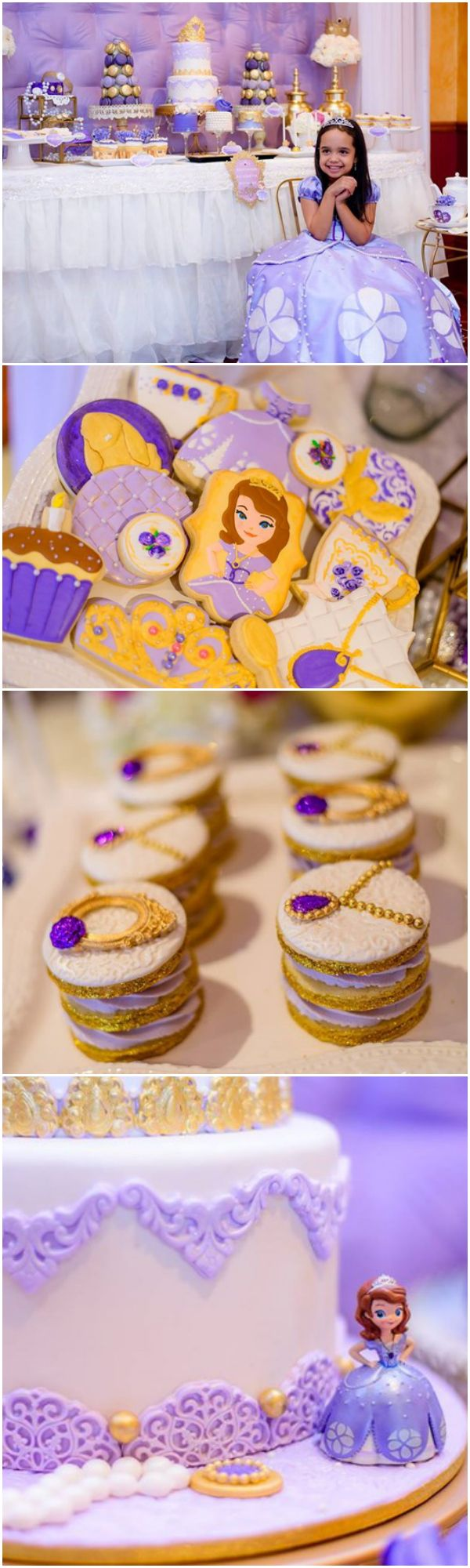 Sofia the First Royal Tea Party Ideas