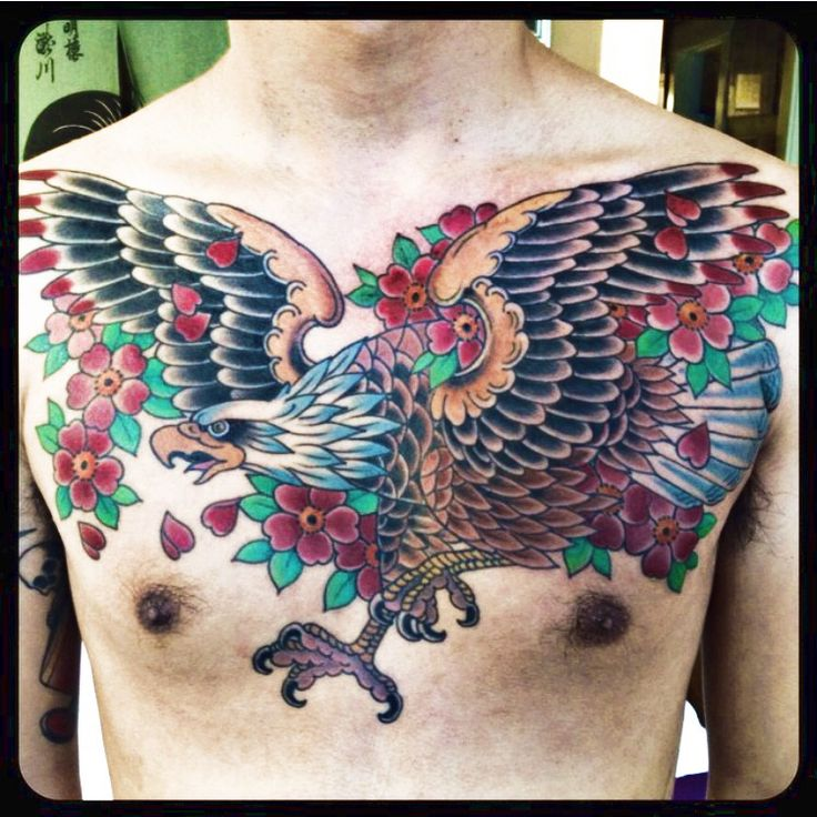 Chest eagle