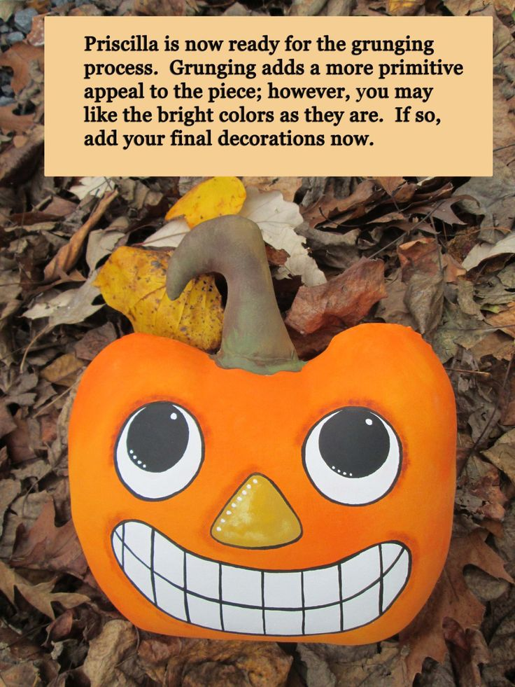 How To Make a Grunged Primitive Stuffed Magickal Pumpkin — Priscilla/Priscella! by Silver RavenWolf Meet Priscilla/Priscella — the Sassy Primitive Pumpkin — perfect for Halloween/…