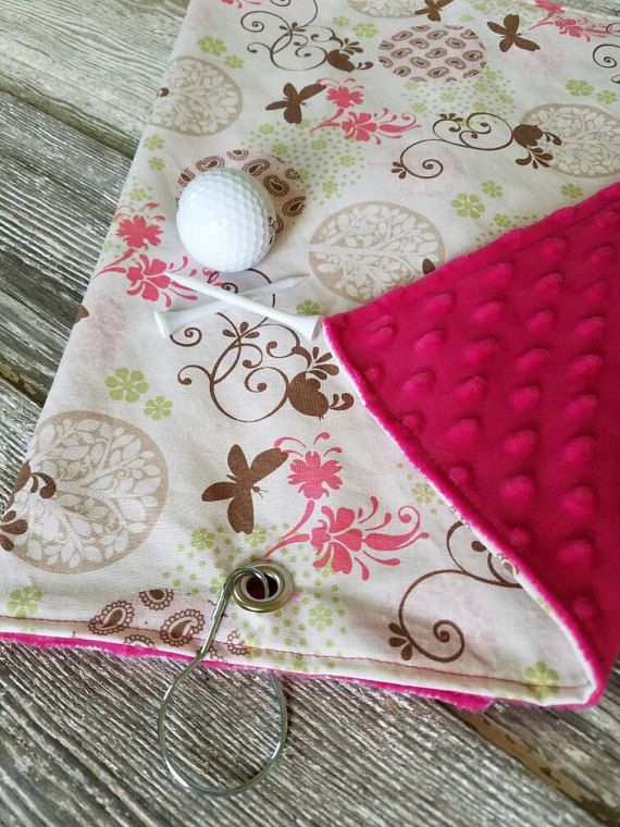 Hey, I found this really awesome Etsy listing at https://www.etsy.com/listing/280429960/golf-towel-ladies-golf-towel-floral-golf