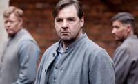 Downton Abbey, Season 3, Episode 3. Mr. Bates in the prison yard.