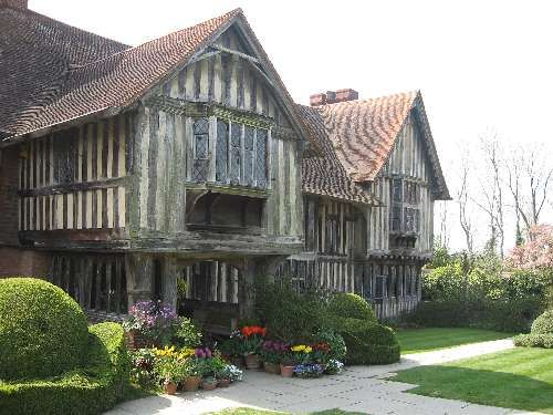 Great Dixter, East Sussex - medieval hall house