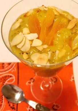 Aprenda a preparar a receita de Creme de damasco com chia é rico em antioxidantes e sacia por mais tempo