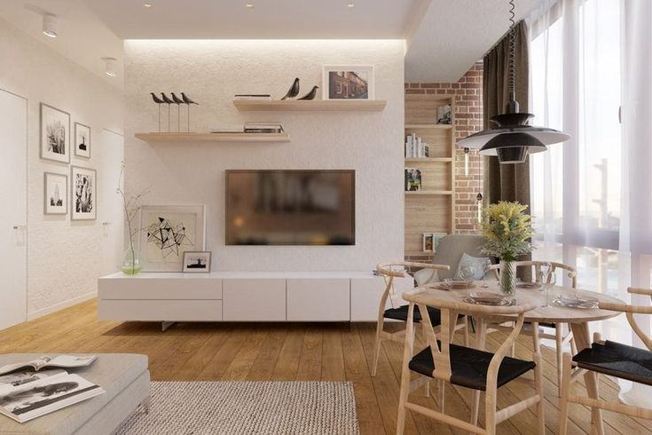 Дизайн интерьер современной 3-комнатной квартиры - Дизайн интерьеров | Идеи вашего дома | Lodgers
