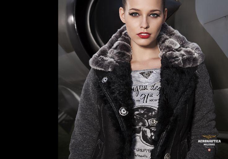 LINEA CREW - Giubbotto AZ117D, t-shirt manica lunga TS968D.