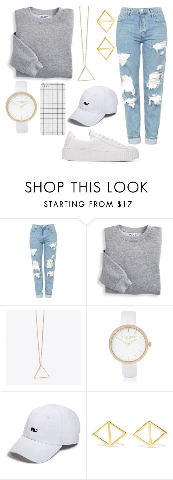 """See you soon"" by walkeralexzandreia ❤ liked on Polyvore featuring Topshop, Blair, River Island, Vineyard Vines and Arme De L'Amour"