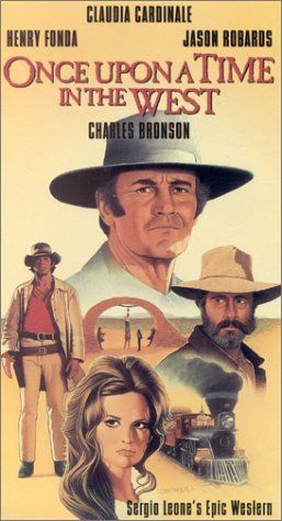 """""""Once Upon A Time In The West"""" (1968) Henry Fonda, Claudia Cardinale, Jason Robards"""