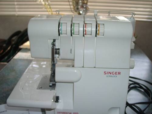 singer overlock sewing machine supplying my addiction pinterest. Black Bedroom Furniture Sets. Home Design Ideas