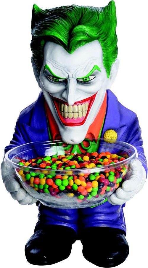 Pot à bonbons Joker™  et un choix immense de décorations pas chères pour…