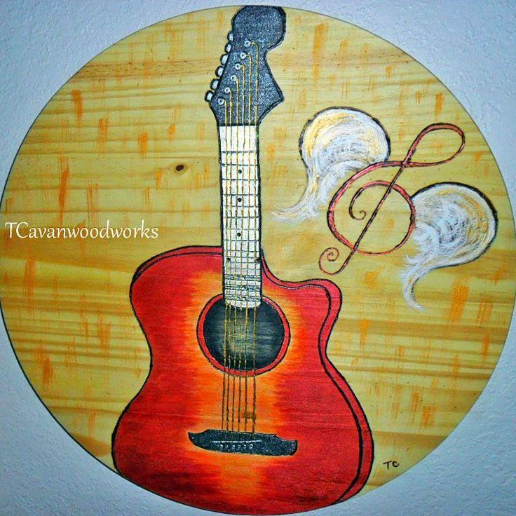 #guitar #woodworking Finished!!🙌 #🎸 #🎼🎶🎵 #guitarist #guitardecor #pyrography #woodburning #artist #guitarlovers #painting #musiclover #trebleclef #gclef #wings #guitarwings #musicnote #fingerstyleguitar #redguitars #acousticguitar #sunburstguitars #riff #guitar🎸 #guitarstrings #customguitar #musicroom #glitter #guitarlife #guitarsofinstagram #guitarcollectors