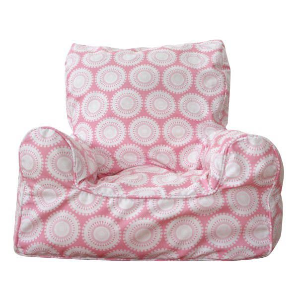 Bean Chair - Pink Freckles  $109.00 #limetreekids #toys #kids #play #lounge #beanbag
