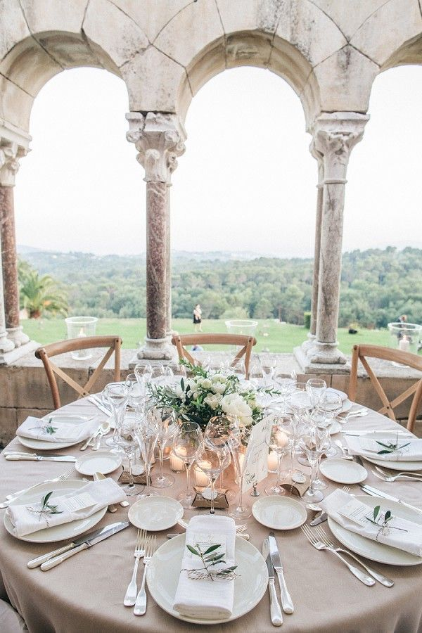Stylish Rustic Wedding ceremony Provence | Picture by Love Story